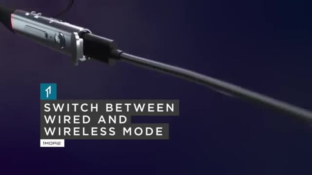Xiaomi Навушники 1MORE Dual Driver BT ANC In-Ear Headphones Commercial 2019