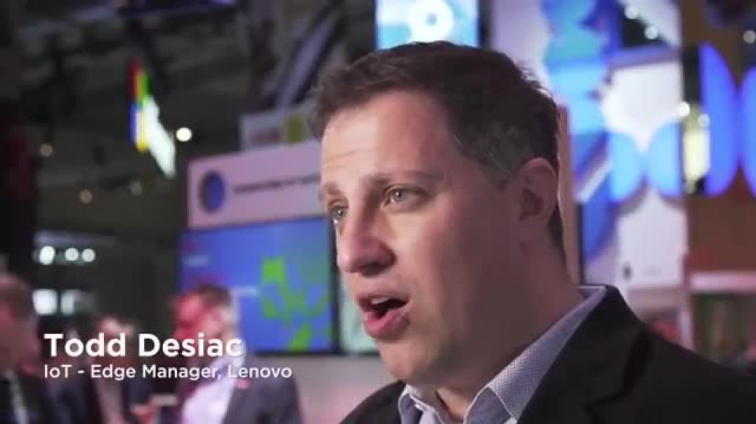 Lenovo  ThinkSystem SE350 In Action at MWC 2019 Commercial 2019