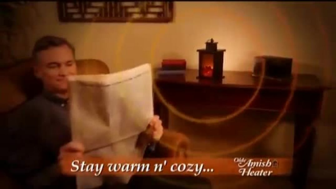 Olde Amish Heater Stay Warm Commercial 2019