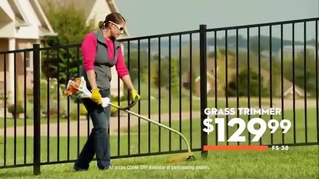 STIHL Real People Grass Trimmers Commercial 2019