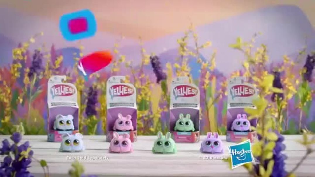 Yellies! Bunnies TV Commercial ad Yelling Makes Them Go Commercial 2019