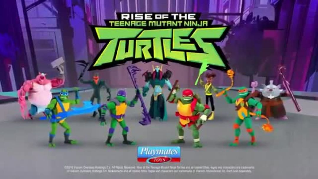 Rise of the Teenage Mutant Ninja Turtle TV Commercial ad Sewer Lair Power Up! App Commercial 2019