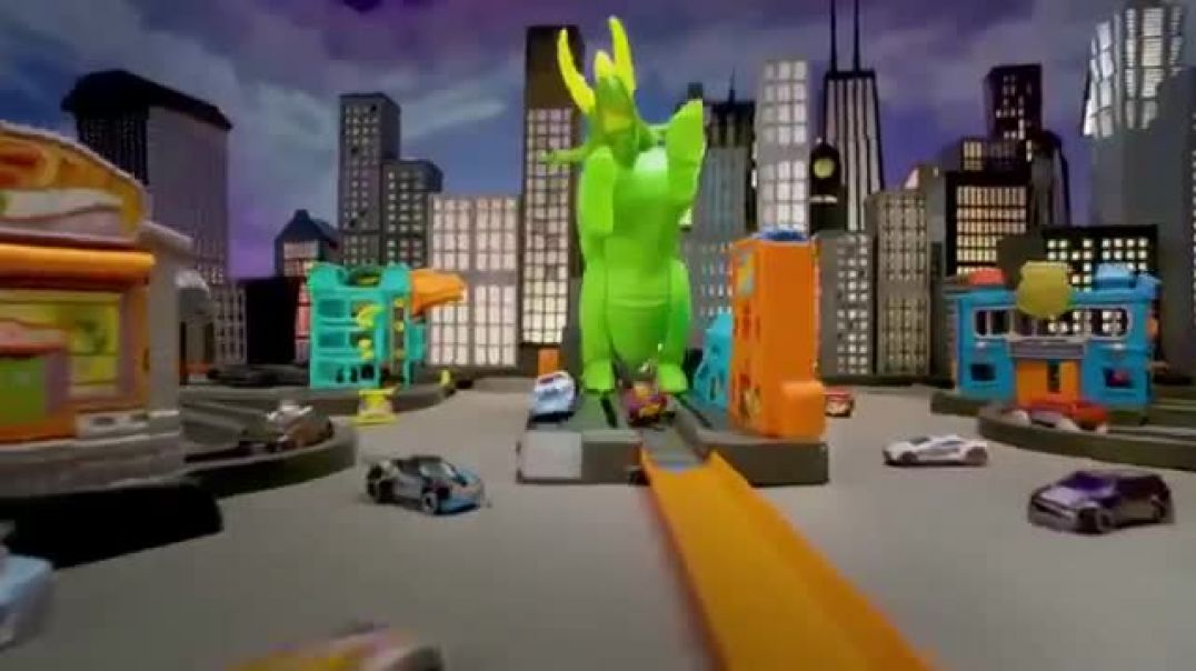 Hot Wheels City Smashin Triceratops TV Commercial ad Give It all You Got Commercial 2019