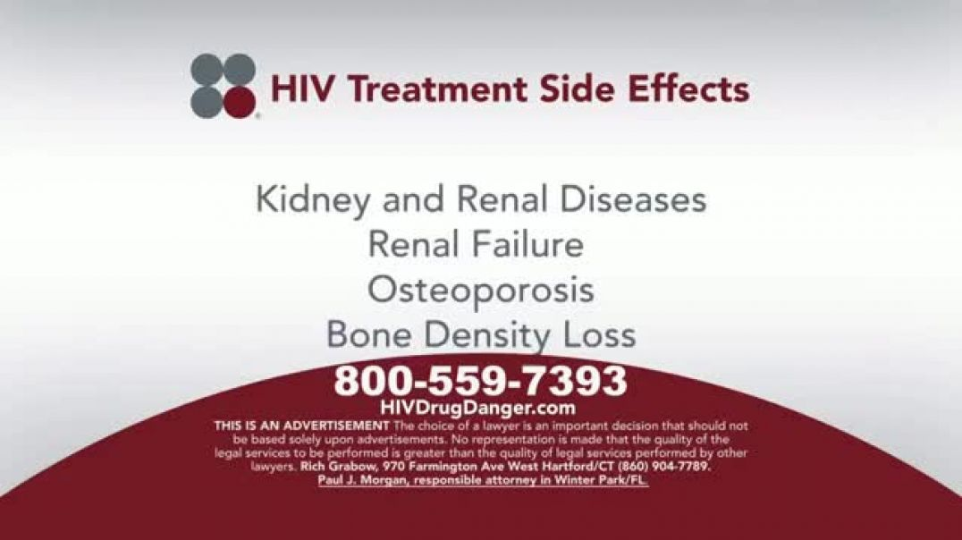 Sokolove Law TV Commercial Ad HIV Treatment Side Effects Commercial 2019