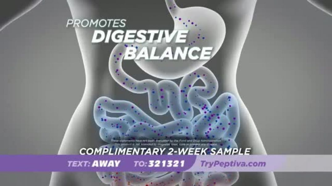 Peptiva TV Commercial Ad Your Diet Commercial 2019