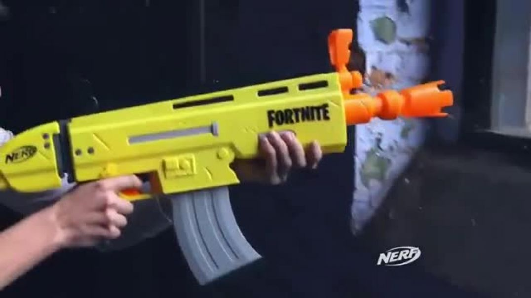 Nerf Fortnite Blasters TV Commercial ad Real Life Commercial 2019