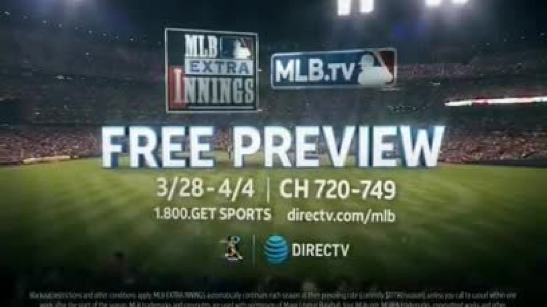 DIRECTV MLB Extra Innings TV Commercial Ad Larger Than Life Moments Commercial 2019
