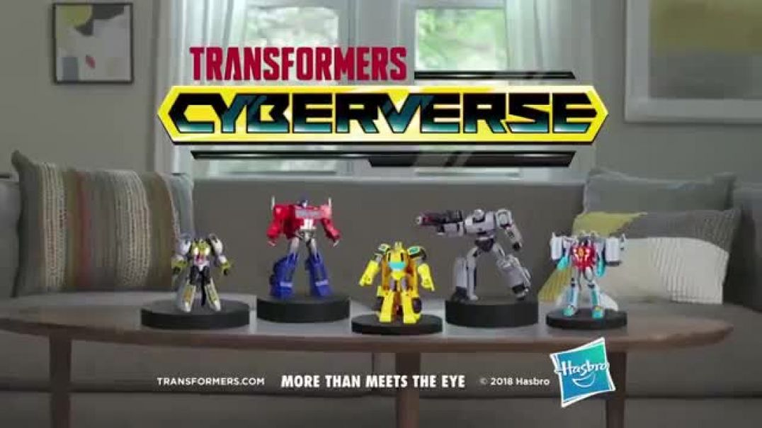 Transformers Cyberverse Action Attackers TV Commercial ad Get More Whoa Commercial 2019