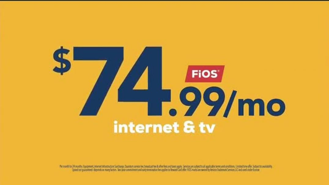 FiOS by Frontier TV Commercial Ad Thanks a Whole Bunch $74 99 Commercial 2019