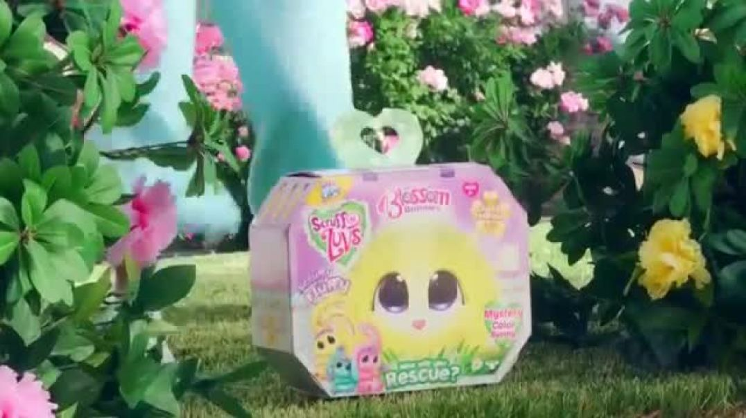 Little Live Pets ScruffaLuvs Blossom Bunnies TV Commercial ad Love Them All Commercial 2019
