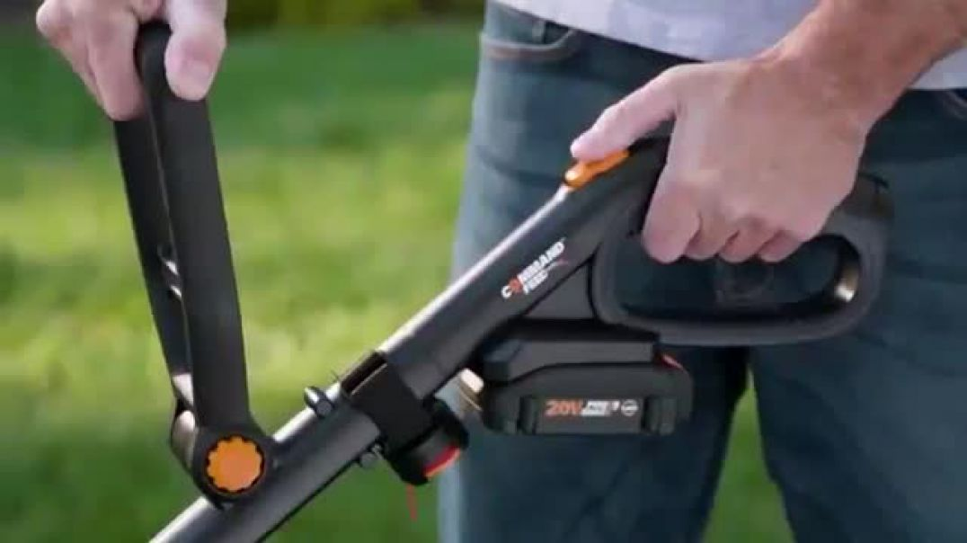 Worx GT Revolution TV Commercial Ad Cordless Grass Trimmer Commercial 2019