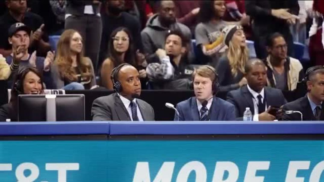 AT&T Wireless 5G Evolution TV Commercial Ad OK March Madness Saints Go Marching In Commercial 20