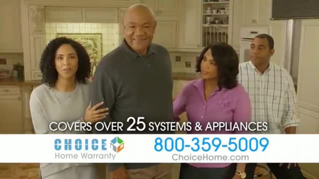 Choice Home Warranty TV Commercial  Ad Army of Expert Technicians Featuring George Foreman Commerci