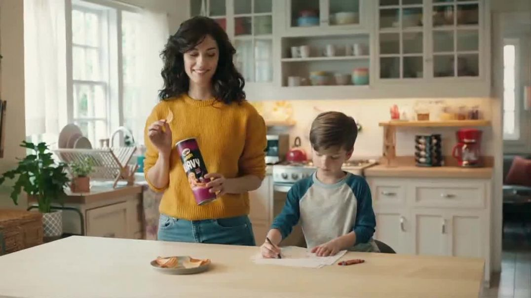 Pringles Wavy TV Commercial Ad Daddy Commercial 2019