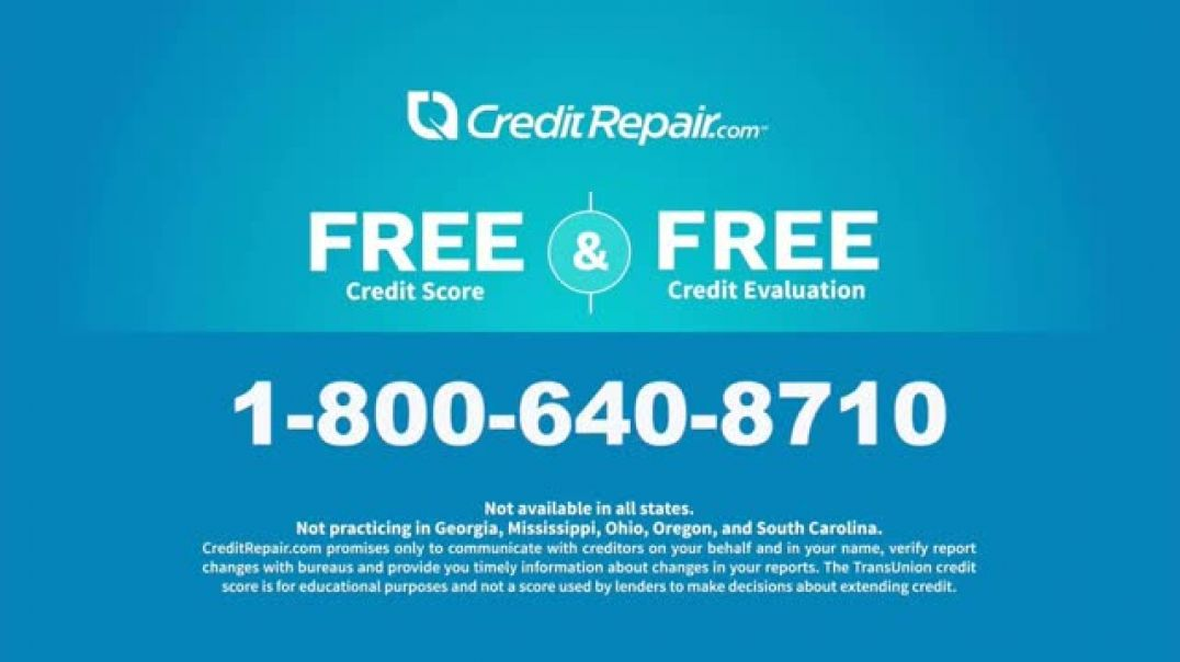 CreditRepair com TV Commercial Ad Solutions Commercial 2019