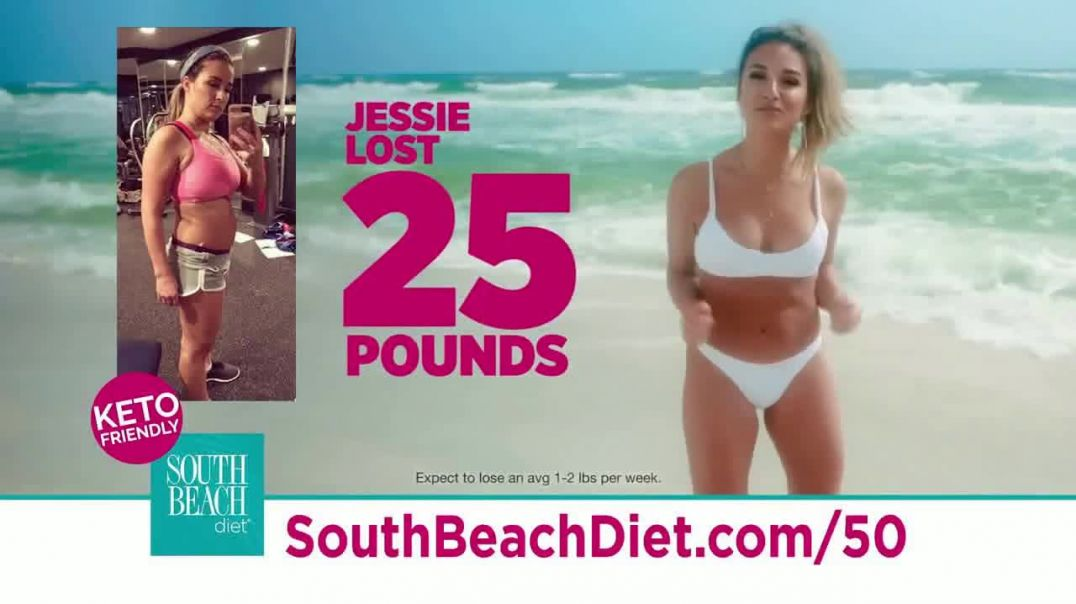 South Beach Diet Special Overnight Deal TV Commercial Ad KetoFriendly Diet Featuring Jessie James De