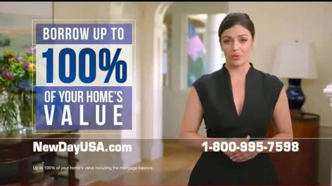 NewDay USA NewDay 100 VA Home Loan TV Commercial Ad Ad Fantastic News Commercial 2019