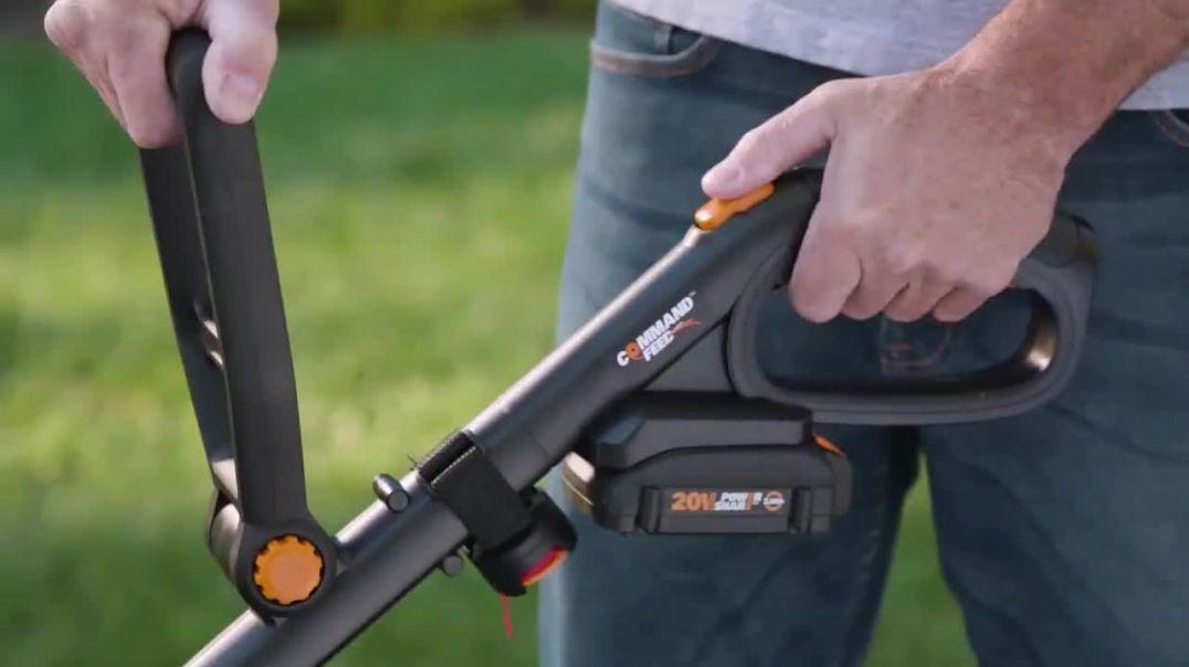 Worx GT Revolution TV Commercial Ad Cordless Grass Trimmer Lowes Commercial 2019