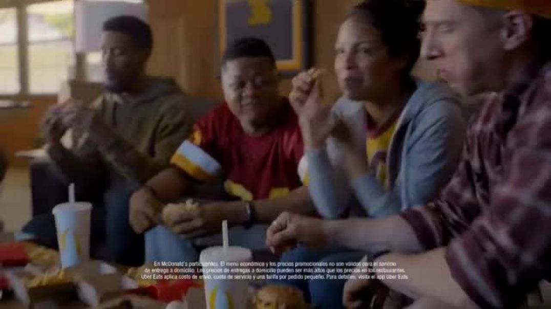 McDonalds McDelivery TV Commercial Ad Uber Eats más que comida Commercial 2019