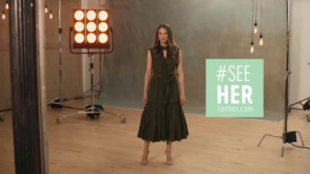 SeeHer TV Commercial Ad Reach for More Featuring Sutton Foster commercial 2019