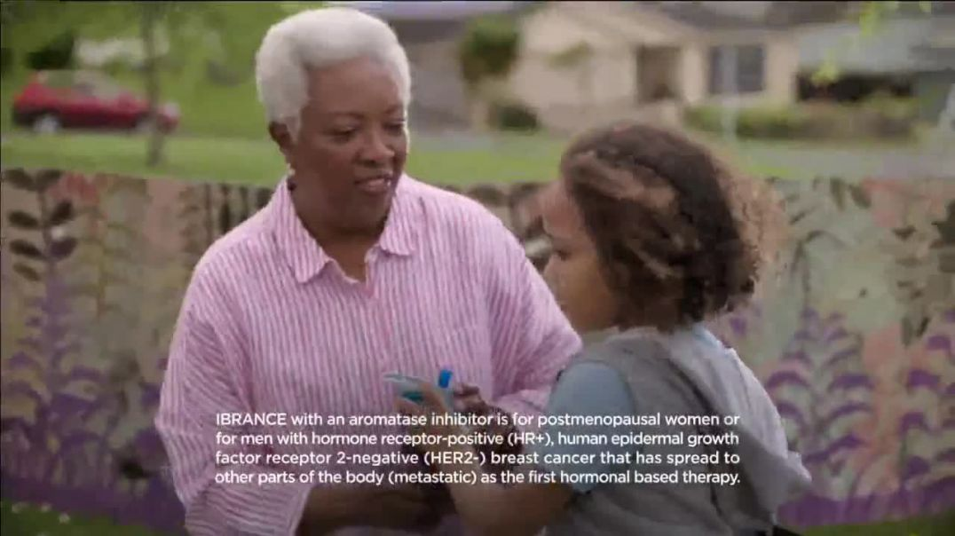 IBRANCE TV Commercial ad Corey commercial 2019