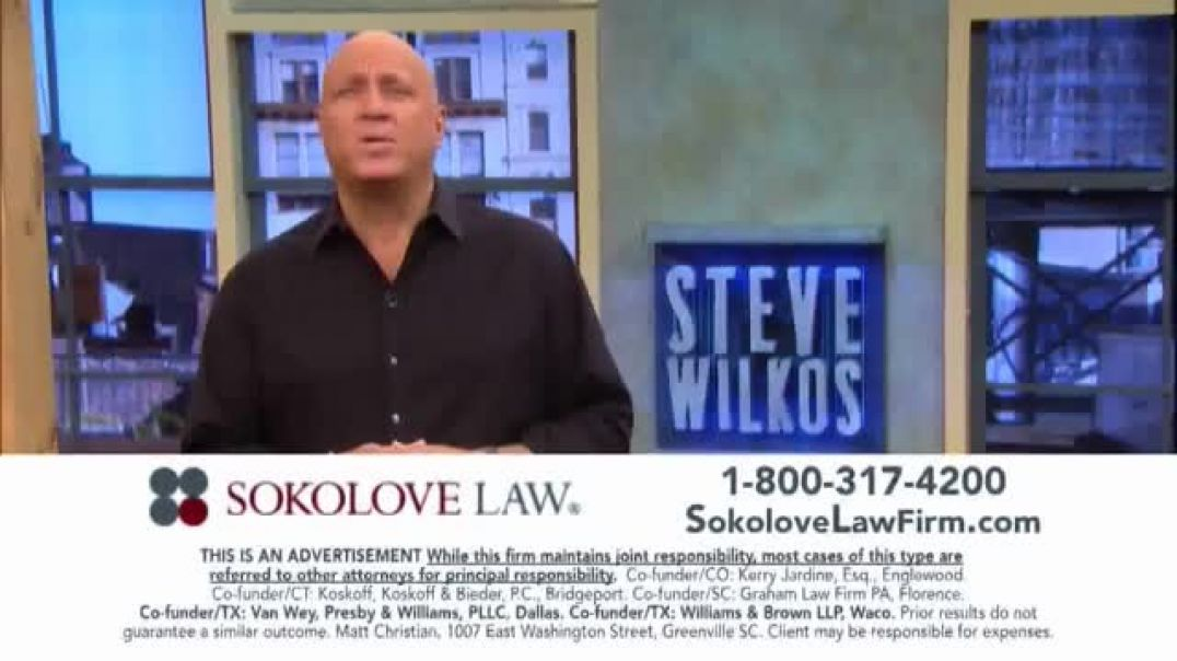 Sokolove Law TV Commercial Ad Injured at Birth Featuring Steve Wilkos Commercial 2019