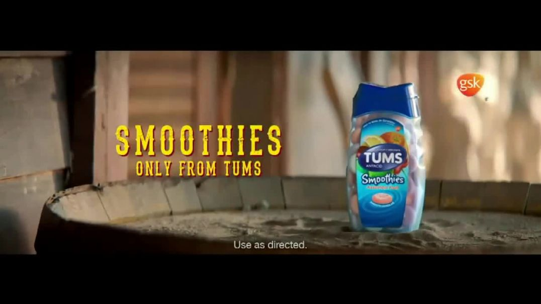 Tums Smoothies TV Commercial Ad Run Heartburn Outta Town commercial 2019