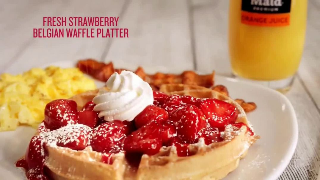 Watch Perkins Restaurant & Bakery Commercial Strawberry Season TV Commercial Ad 201