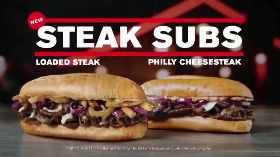 Watch Checkers & Rallys Commercial Steak Subs and Wicked Strawberry Cones TV Commer