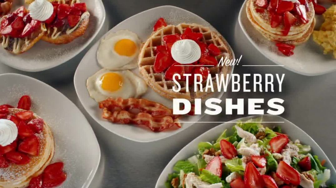 Watch Perkins Restaurant & Bakery Strawberry Dishes Commercial Napkin TV Commercial