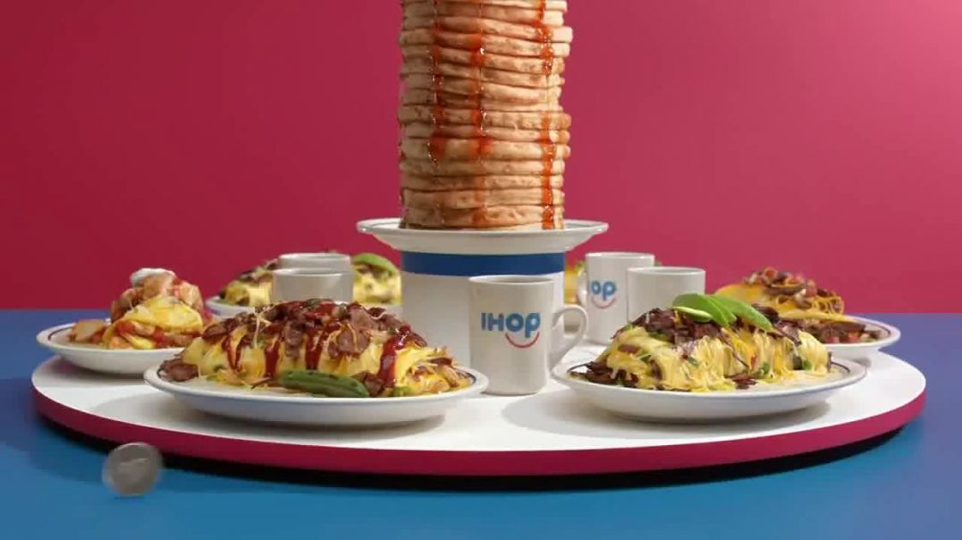 Watch IHOP Omelettes With Unlimited Pancakes Commercial Coin Toss TV Commercial Ad 2019