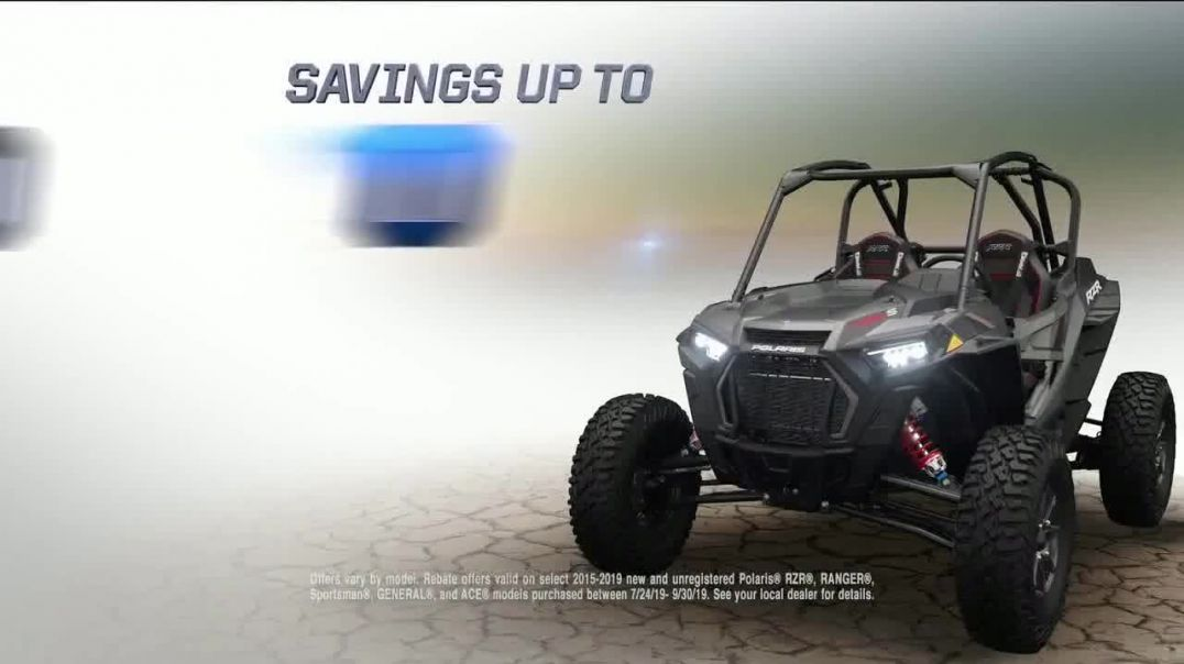 Watch Polaris Factory Authorized Clearance Commercial Pursue Your Passion TV Commercial Ad 2019