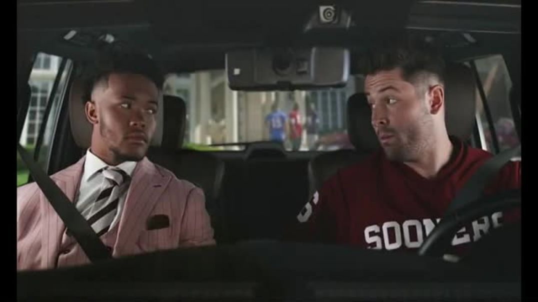 Watch Nissan Commercial Road to the Heisman House Featuring Kyler Murray Baker Mayfield &am