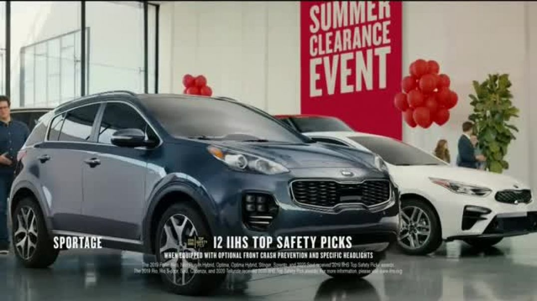 Watch Kia Summer Clearance Event Commercial Exciting Time TV Commercial Ad 2019