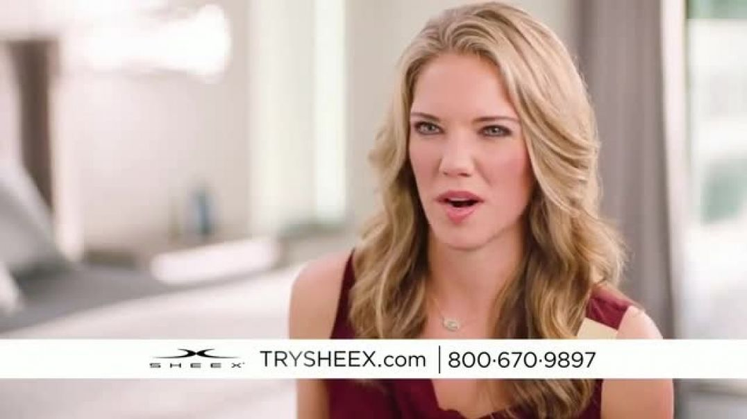 Watch Sheex Performance Sheets Commercial The Problem With Traditional Cotton Sheets TV Commerc