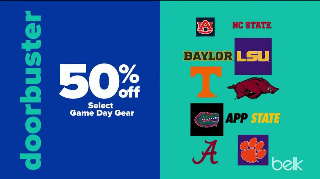 Watch Belk Fall Stock Up Sale Commercial Jewelry and Game Day Gear TV Commercial Ad