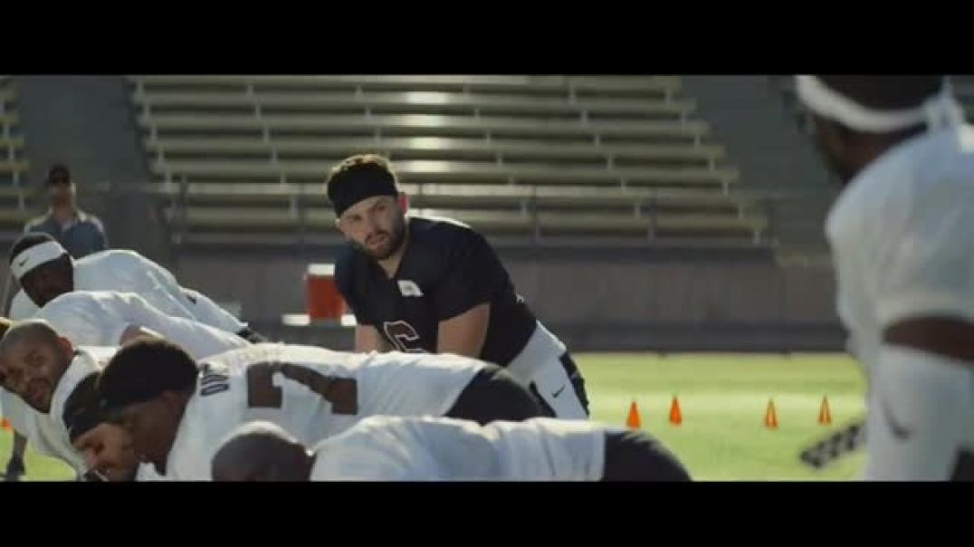 Watch Hulu Commercial Baker Mayfields Hulu Has Live Sports Audible TV Commercial Ad