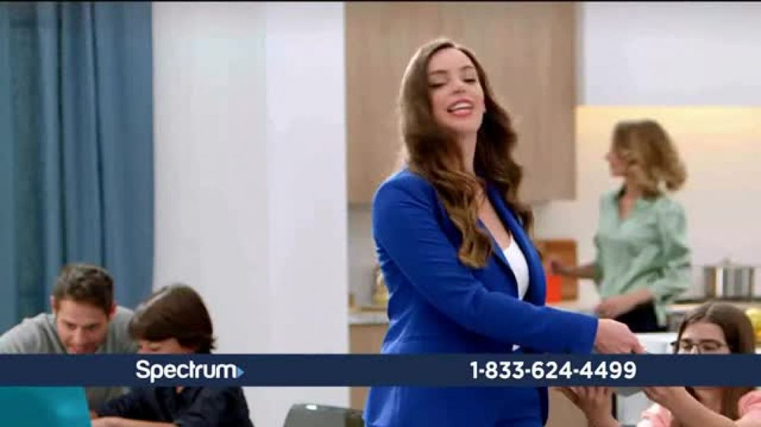 Watch Spectrum TV + Internet Commercial Upside Down TV Commercial Ad