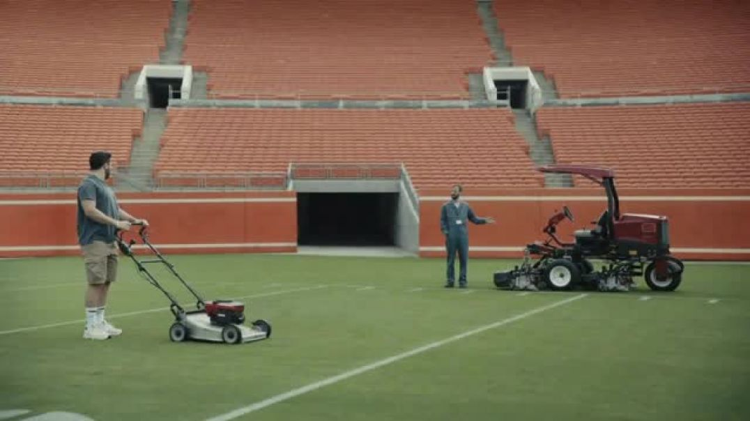Watch Progressive Commercial Baker Mayfield Mows His Lawn TV Commercial Ad