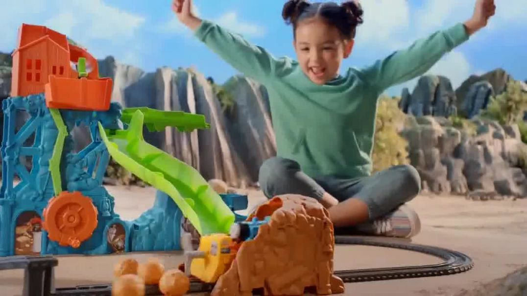 Watch Thomas & Friends Cave Collapse Commercial Rock Slide TV Commercial Ad