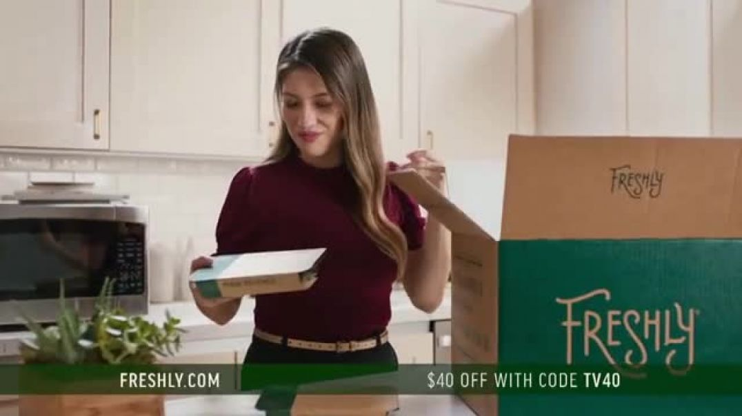 Watch Freshly Commercial Options for Every Diet $40 Off TV Commercial Ad