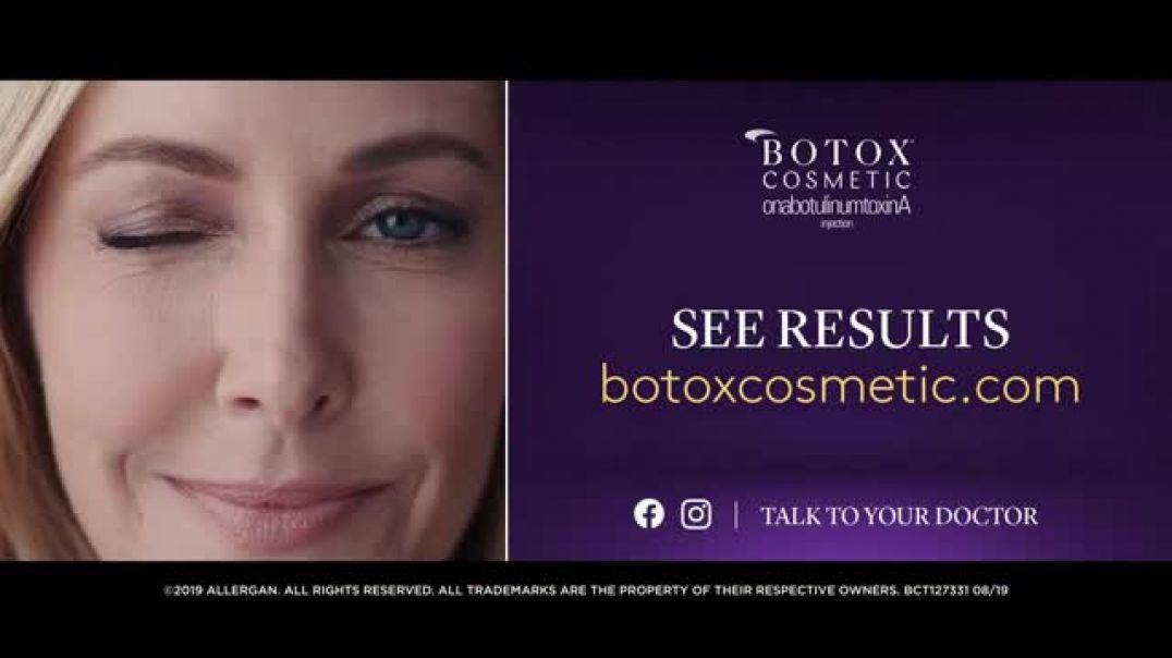 Watch Botox Cosmetic Commercial Own Your Look TV Commercial Ad