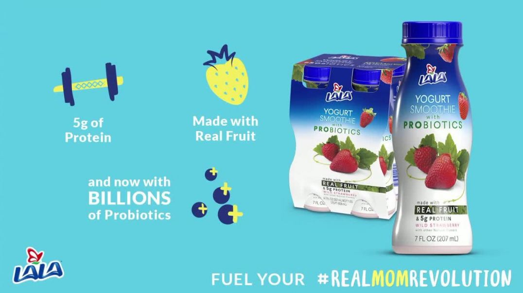 Watch LALA Yogurt Smoothies Commercial Run Out the Door TV Commercial Ad