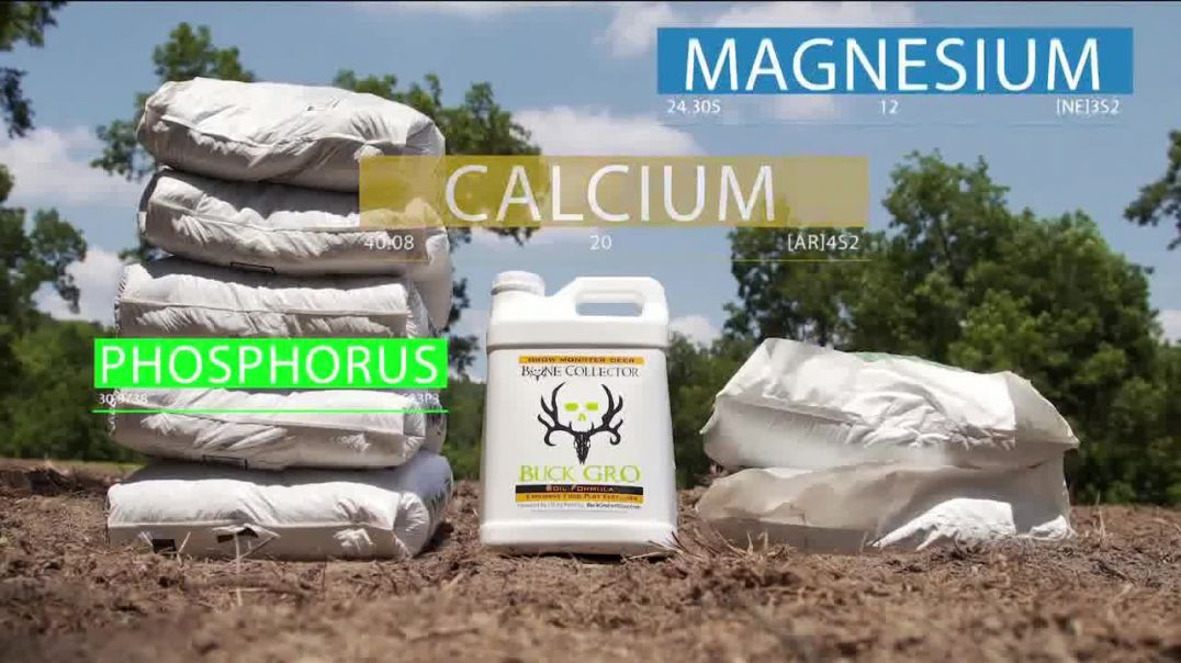 Watch Bone Collector Buck Gro Commercial Trace Elements Featuring Michael Waddell TV Commercial
