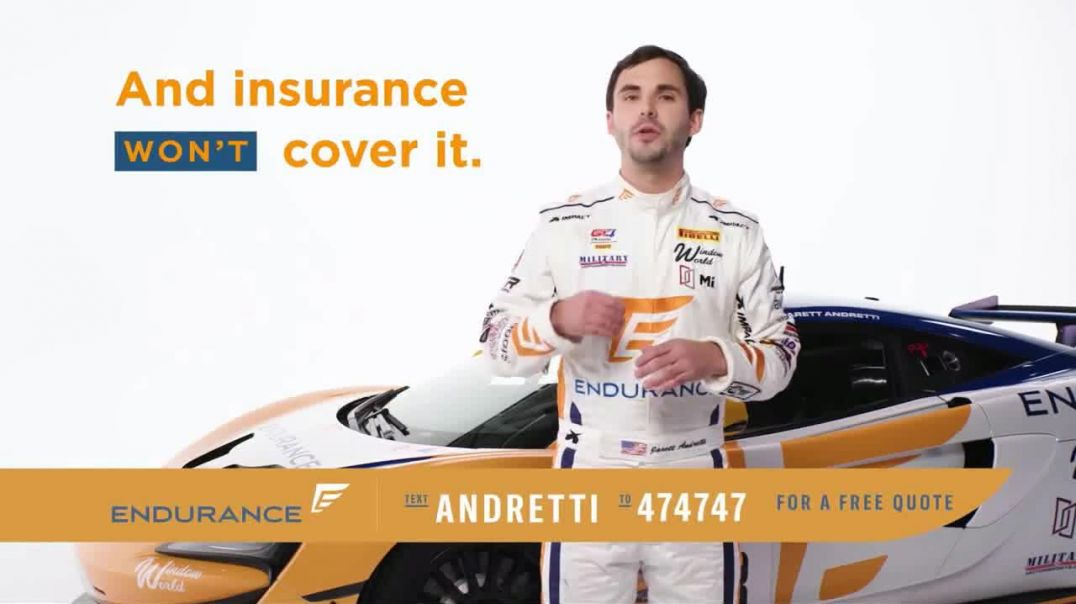 Endurance Direct Vehicle Protection Plan  Commercial Can You Afford a Breakdown Ft. Jarett Andretti