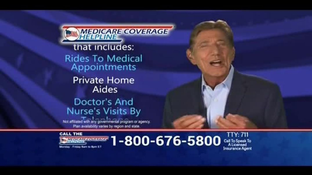 Medicare Coverage Helpline  Commercial New Benefits Home Delivered Meals Featuring Joe Namath C