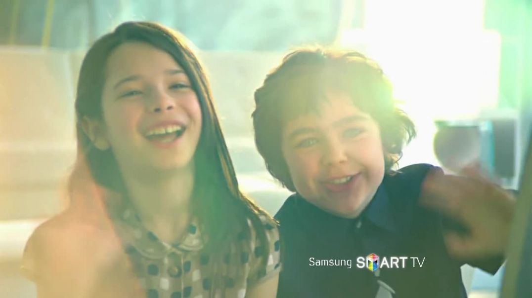 Commercial for Samsung Smart TV Step Into the Future