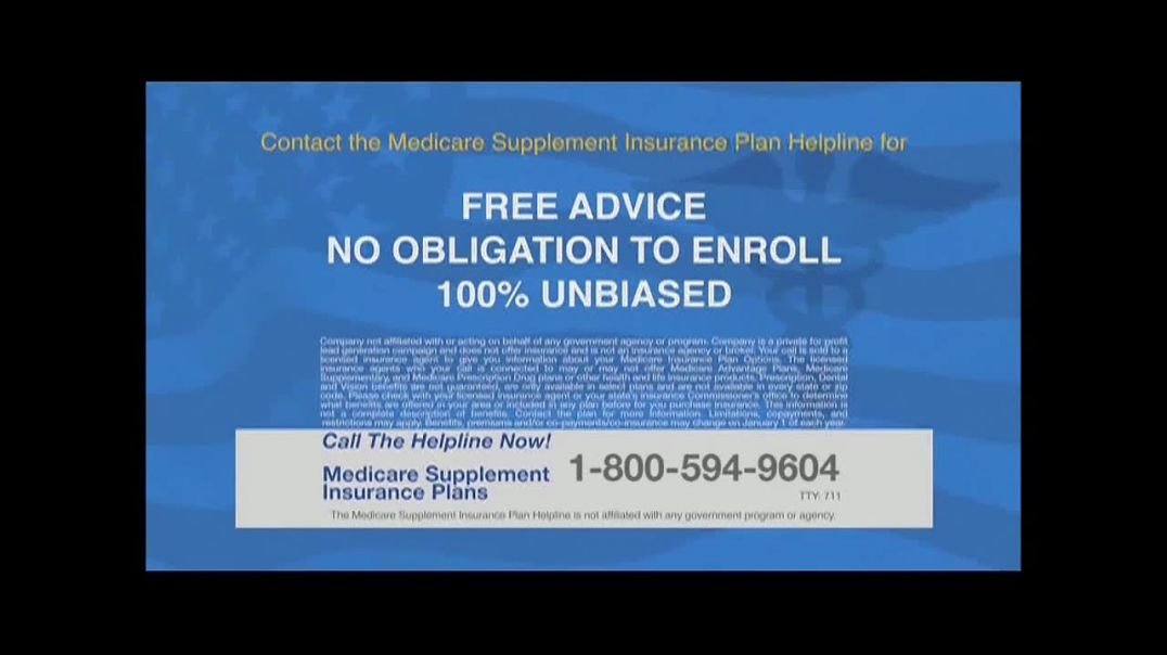 The Medicare Supplement Insurance Plan Helpline Commercial Help Cover Many Personal Expenses