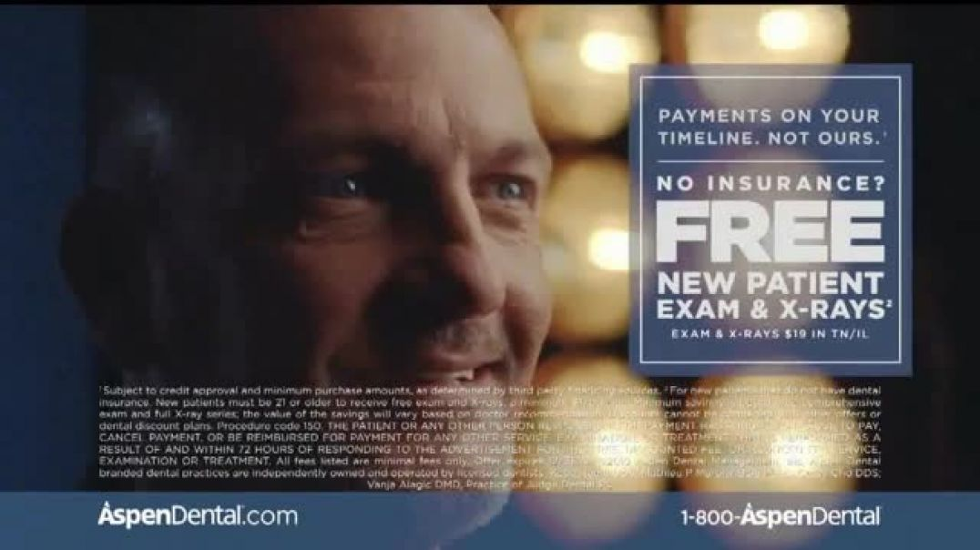Watch Aspen Dental TV Commercial Ad, Roberts Story Permanently Disabled