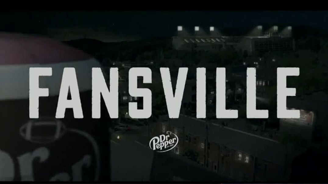 Watch Dr Pepper TV Commercial ad, Fansville Ghost State